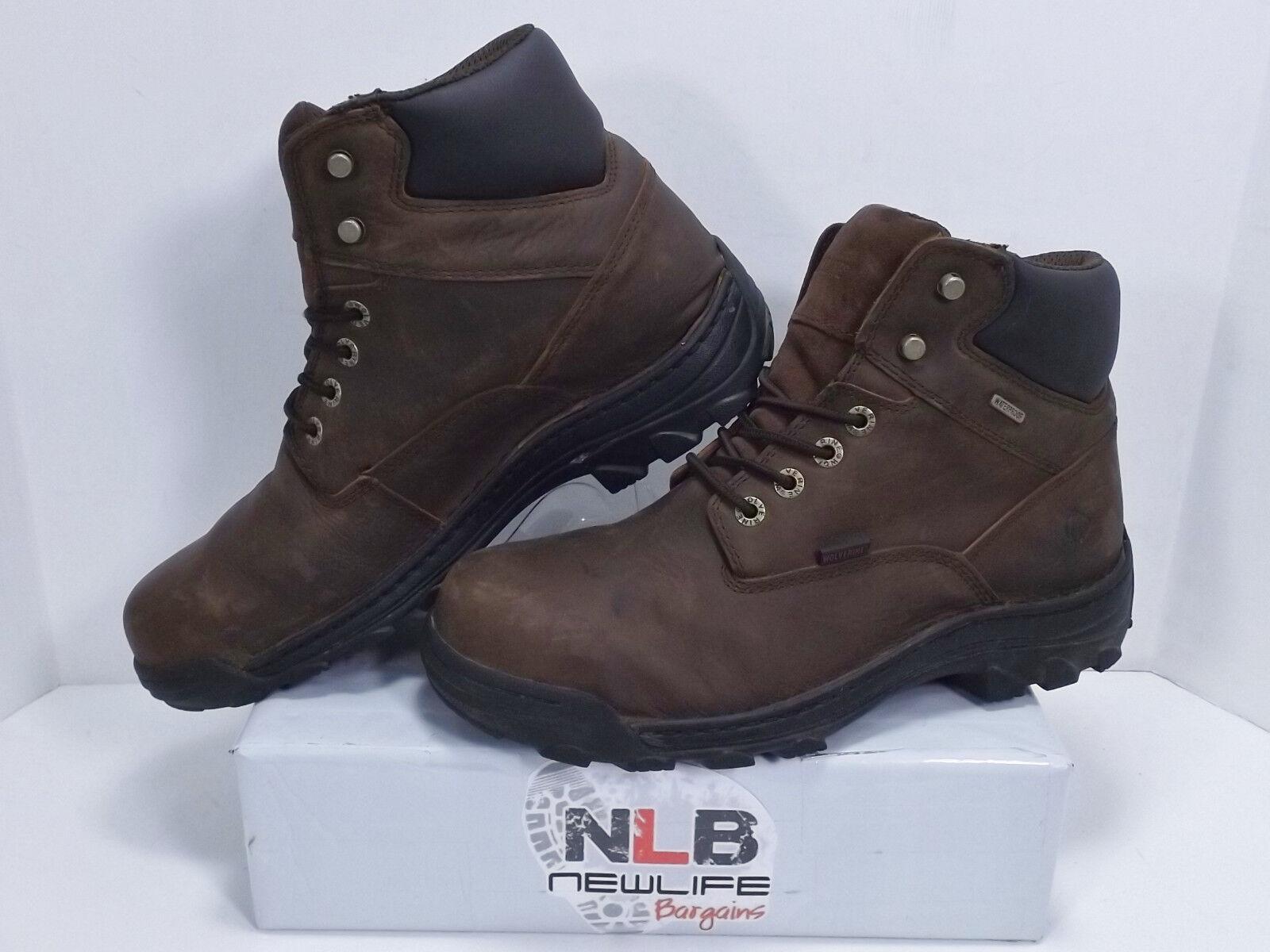 Wolverine Durbin 6 Boots W05483 Waterproof Steel Toe Men's Size 11.5 M