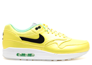 d2b9cc79a7 NIKE AIR MAX 1 PREMIUM QS MERCURIAL PACK VIBRANT YELLOW BLACK LIME ...