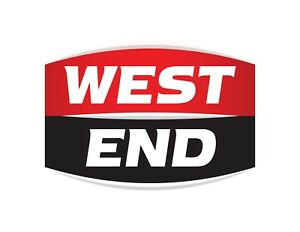 WEST-END-BEER-DECAL-STICKER-LABEL-LARGE-240mm-WIDE