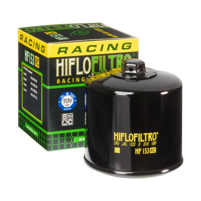 oil filtre Hiflo Filtro Filtre à huile hf153 pour Ducati 916 1993-1998 Noir