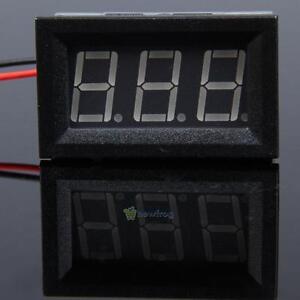 LED-Display-Digital-Voltmeter-2-5-30V-Car-Gauge-Voltage-Volt-Panel-Meter-2-Wire