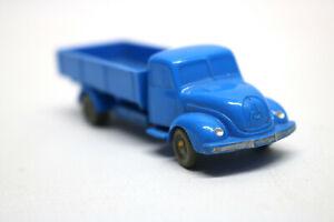 Vintage-WIKING-Lkw-Magierus-Deuz-Pritsche-Unverglast-Blau
