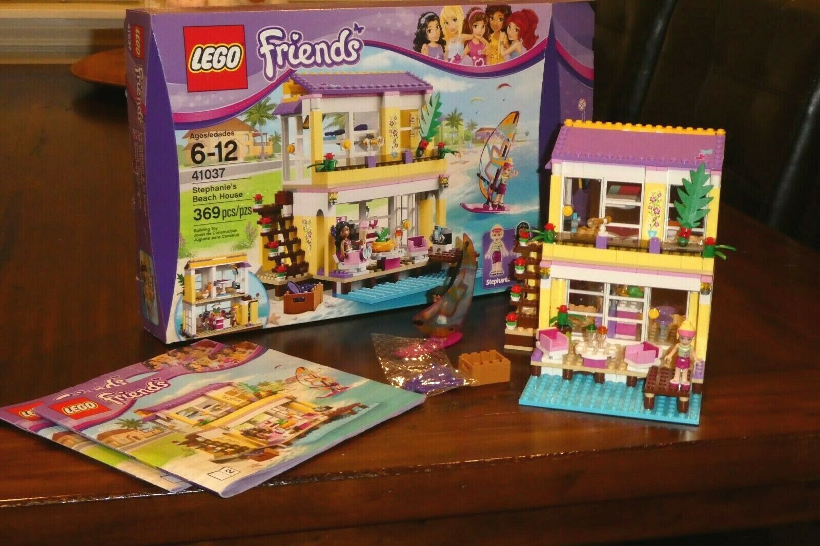 Friends Stephanies Beach House Set 41037 Complete With Instructions