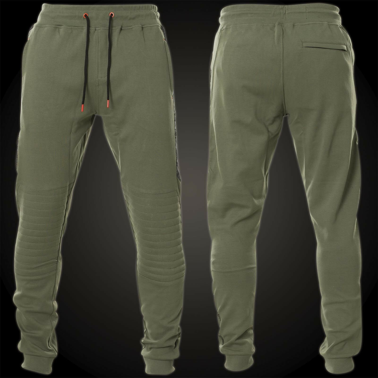 AFFLICTION Sweatpants Space Race Jogger Grün Herren