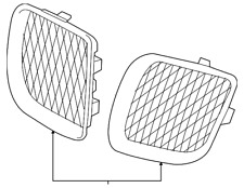 Genuine GM 15208237 Grille Right Front