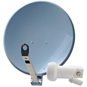Sat-Spiegel-GIBERTINI-Schuessel-85-cm-ALU-mit-Single-LNB-0-1dB-Full-HDTV