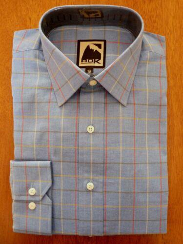 Rok Equestrian Womens Blue L//S Harrier Check Shirt    SIZE 20    BRAND NEW