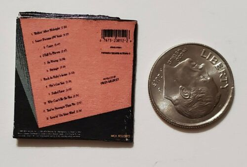 "Dollhouse Miniature Record Album 1/"" 1//12 scale Music Patsy Cline Hits"