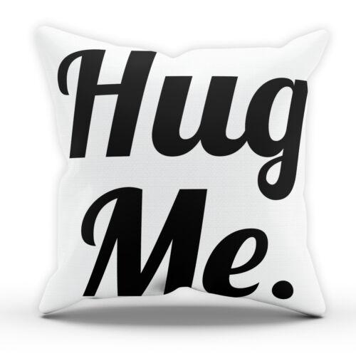 Hug Kiss Love Me Pillow Cushion Pad Cover Case Bed Home Decor BF GF Wedding