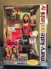 "Mary Kate & Ashley Olsen ""Super Spa Day"" Ashley doll, New in Package! VINTAGE"