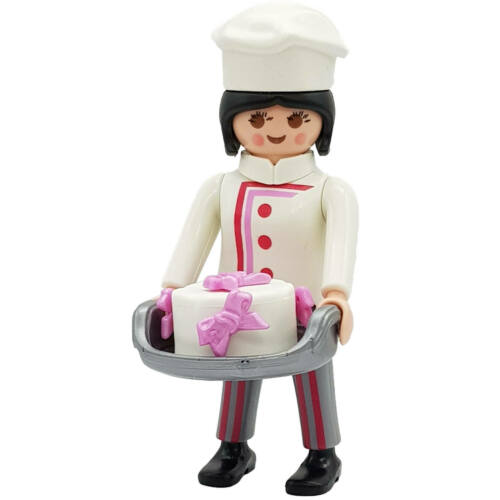 Playmobil Bäckereiverkäuferin PLAYMOBIL® Figures Serie 12 konditorin k9242e