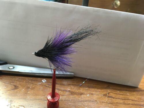 Saltwater Flies Megalopsicle Size1//0 Purple//Black Tarpon,snook,