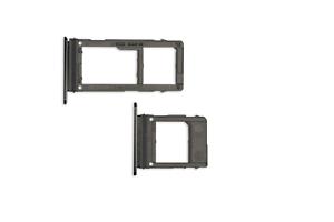 Samsung-GALAXY-a8-DUAL-a530-2018-SIM-Tray-supporto-schede-NERO-BLACK