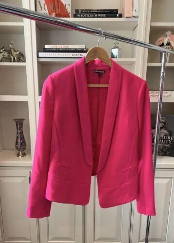 Express Women's Hot Pink Blazer Size 8