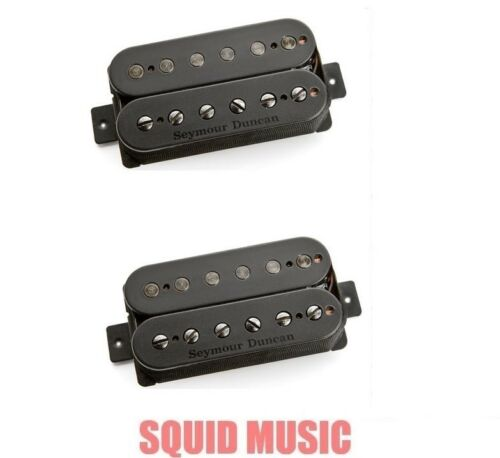 3 STRING SETS Seymour Duncan Pegasus /& Sentient 6 String Humbucker Set Black