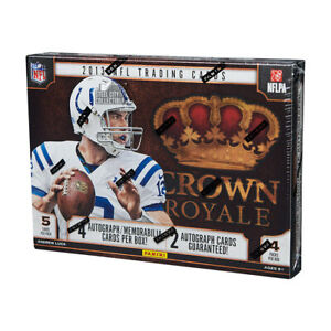 2013 Panini Crown Royale Football Hobby Box