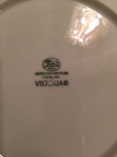 Hutschenreuther Viktoria White  Saucer Plate Germany