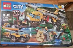 NEW-SEALED-LEGO-60162-City-Jungle-Air-Drop-Helicopter-w-5-Vehicles-Tiger-amp-Croc