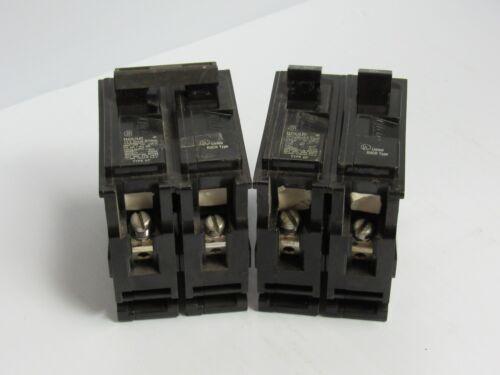 Lot of 2 ITE Gould QP Q220 Circuit Breaker QPQ220 20 A Amp 20A 2 Pole 2P