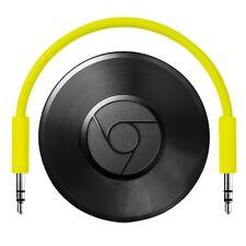 Google Chromecast Audio Streaming-Gerät schwarz Netzwerk-Audio-Player