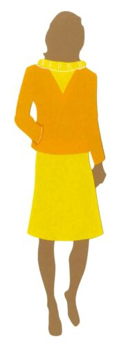 Great for Applique Sizzix Woman Bigz L die #A11128 Retail $29.99 Cuts fabric