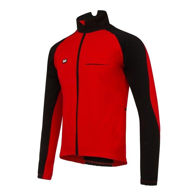 D2D uomo cryoshield Aero Softshell Ciclismo Giacca Invernale-Antivento Invernale-Antivento Invernale-Antivento Impermeabile e42a3c