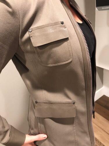 Multiple Sizes Women/'s ELIE TAHARI Designer Farratt Jacket Cafe
