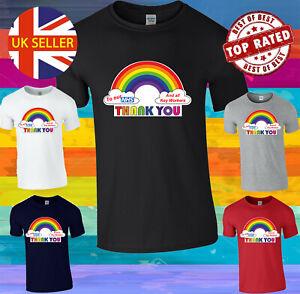 Thank You To NHS Rainbow We Love Our NHS Hoodie Sweatshirt Men Women Unisex 3790