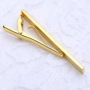 Mens-Metal-Skinny-Slim-Tie-Clip-Simple-Design-Clasp-Bar-Necktie-Office-Wedding-W
