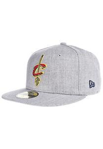 014ae1116d55f9 New Era 59FIFTY NBA Cleveland Cavaliers Heather Grey Denim Style Hat ...