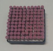 Schleifstifte Zylinder 10 mm Durchmesser, 3 mm Schaft, 100 Stück ETSZY3x10x16