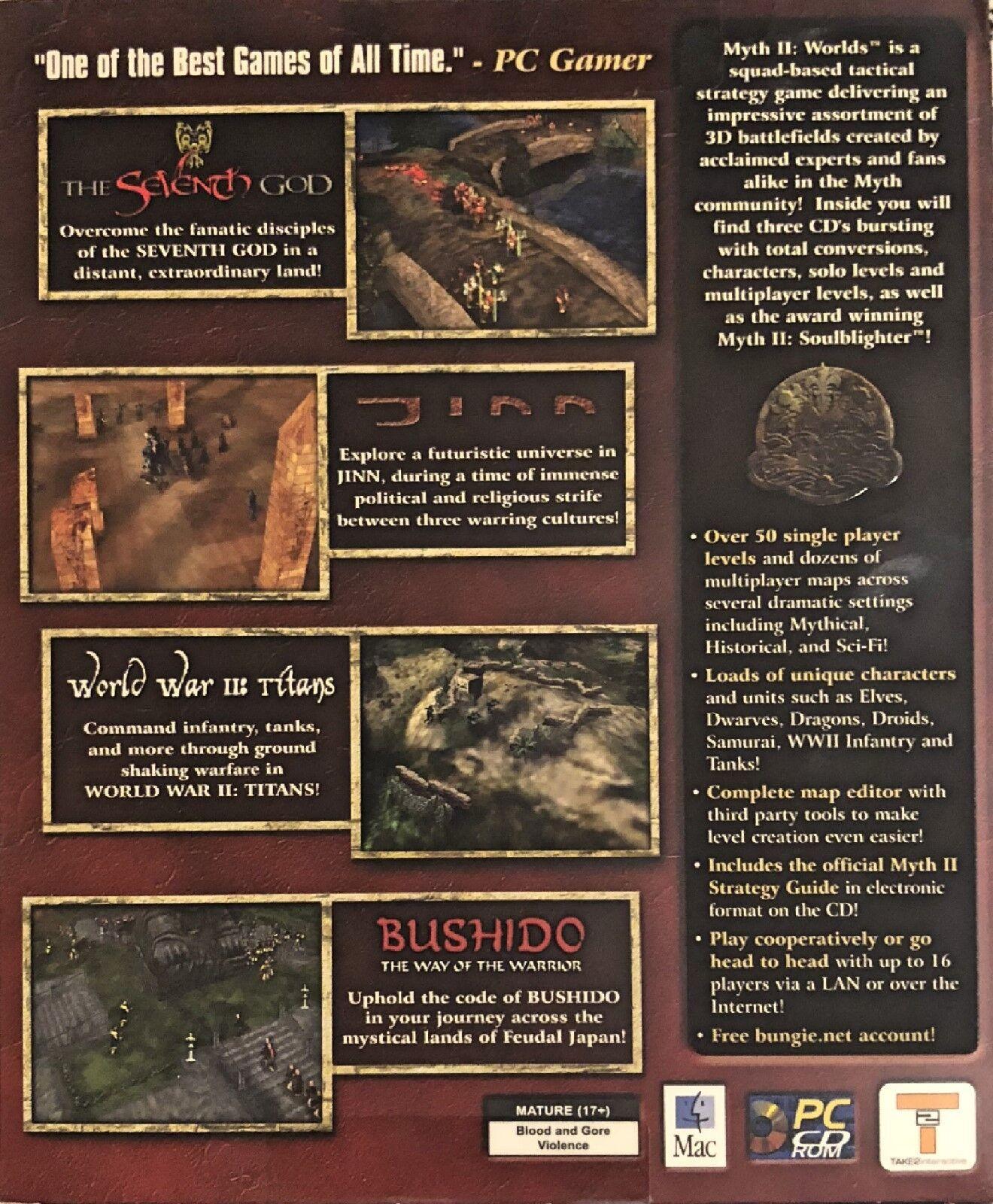 Myth II: Worlds (Windows/Mac, 2001)