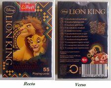 Trefl Jeu de 55 cartes à jouer Walt Disney Le Roi Lion