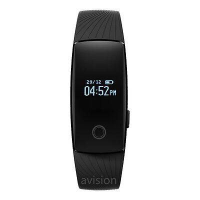 Bluetooth Smart Watch Bracelet Band Heart Rate Monitor Sport Fitness Tracker