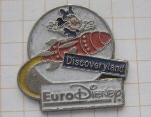 EURO DISNEY / DISCOVERYLAND ................ Comic - Pin (172e)