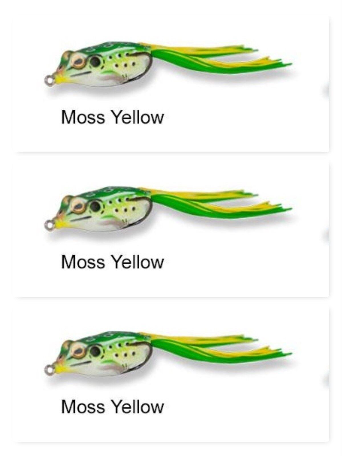 "Vicious Fishing Topwater 3"" VF Frog Lure VF70 3//4 oz Shad"