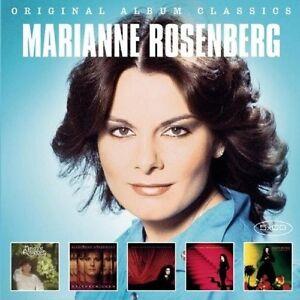 MARIANNE-ROSENBERG-ORIGINAL-ALBUM-CLASSICS-5-CD-NEU