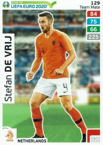 Panini Adrenalyn XL Road to Euro 2020 Team mate nº 129 Stefan de Vrij