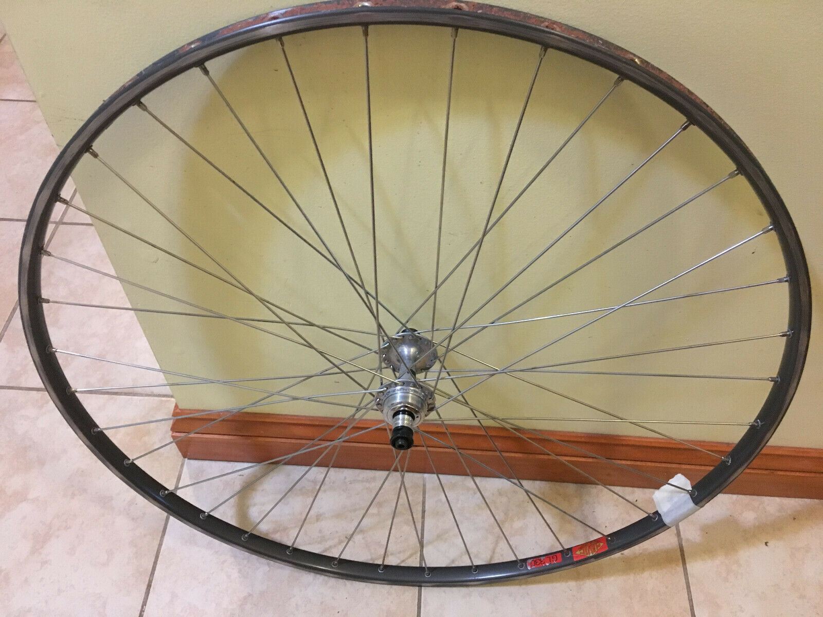 Campagnolo Record Rear Mavic GEL 330 Tubular Wheel  36 hole 126 Hub Spacing  hot sale