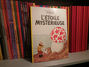 TINTIN-L-039-ETOILE-MYSTERIEUSE-Edition-TOTAL-1999-Herge-BD