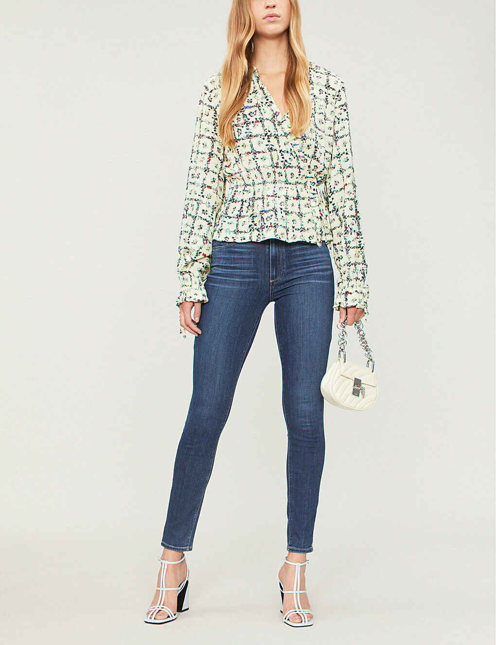 Paige Hoxton Skinny High-Rise Jeans-MONTARA-W26, W27 -