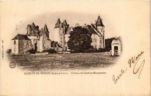 CPA-Seuilly-de-Poitou-Chateau-de-Coudray-Montpensier-611632