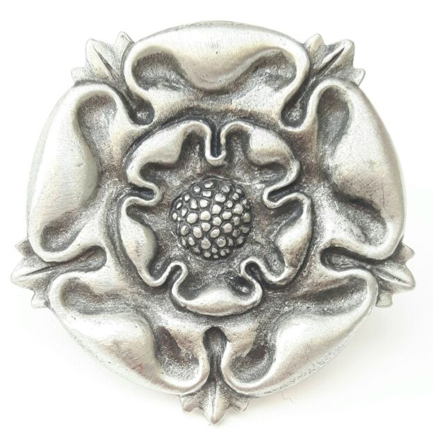Gift Bag Tudor Rose Handcrafted From English Pewter Brooch