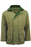 Mens Game Light Derby Tweed Hunting Shooting Jacket Coat - D35