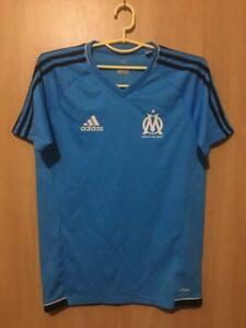 cheap for discount 4a1d6 50887 Details about OLYMPIQUE MARSEILLE 2016/2017 PLAYER ISSUE TRAINING FOOTBALL  SHIRT JERSEY ADIDAS