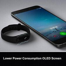 2017 Original Black Xiaomi Mi Band2 Smart Wristband Bracelet Heart Rate Monitor.