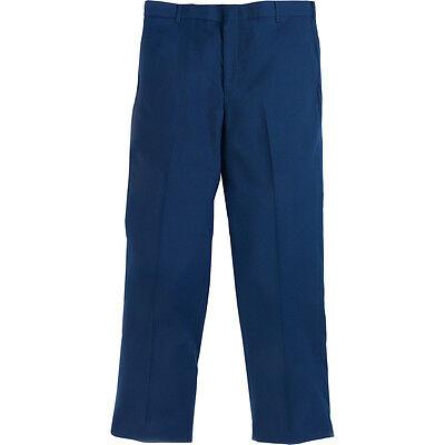 ONE PAIR Navy Blue Men/'s Dress Pants Slacks Air Force Uniform Trousers