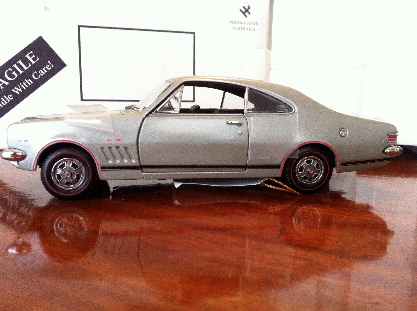 Tu satisfacción es nuestro objetivo ✅ Trax Trax Trax 1 24 1968 Holden Monaro GTS' 327' - plata. TRL3A ✅ Nuevo Viejo Stock  respuestas rápidas