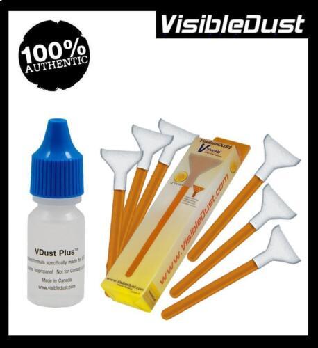 Visible Dust VDust Plus Formula Orange DHAP Cleaning Swabs for 1.5-1.6x Sensor