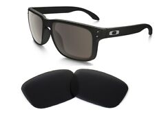 Galaxy Replacement Lenses For-oakley Holbrook Black Color Polarized 100 Uva&b
